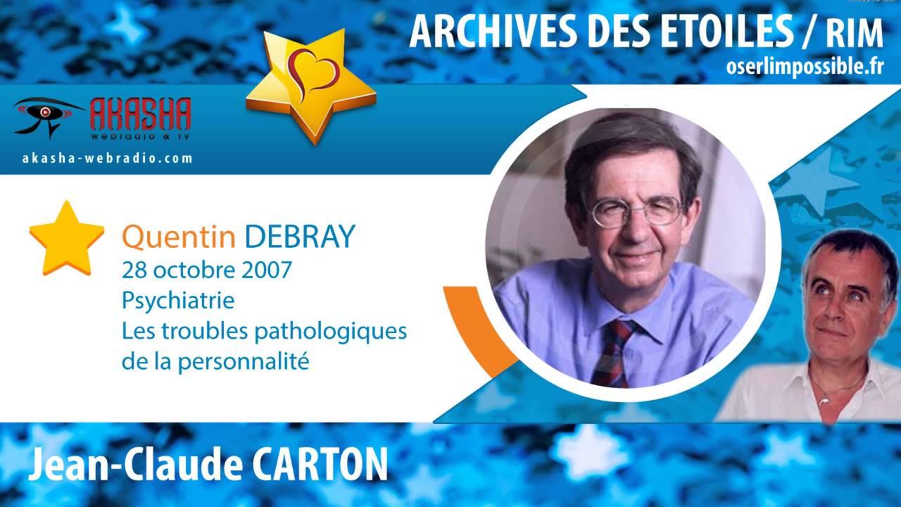 Professeur Quentin DEBRAY | Les troubles pathologiques en ...
