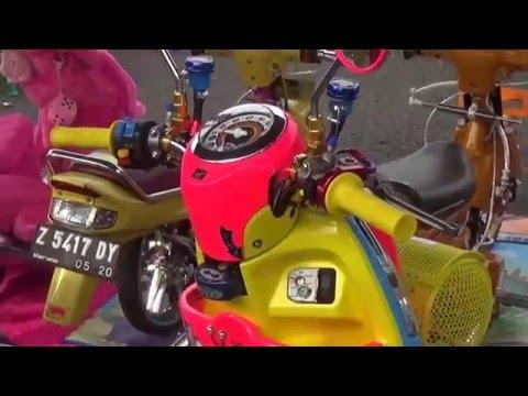 Modifikasi Honda Scoopy BOP keren bangeet