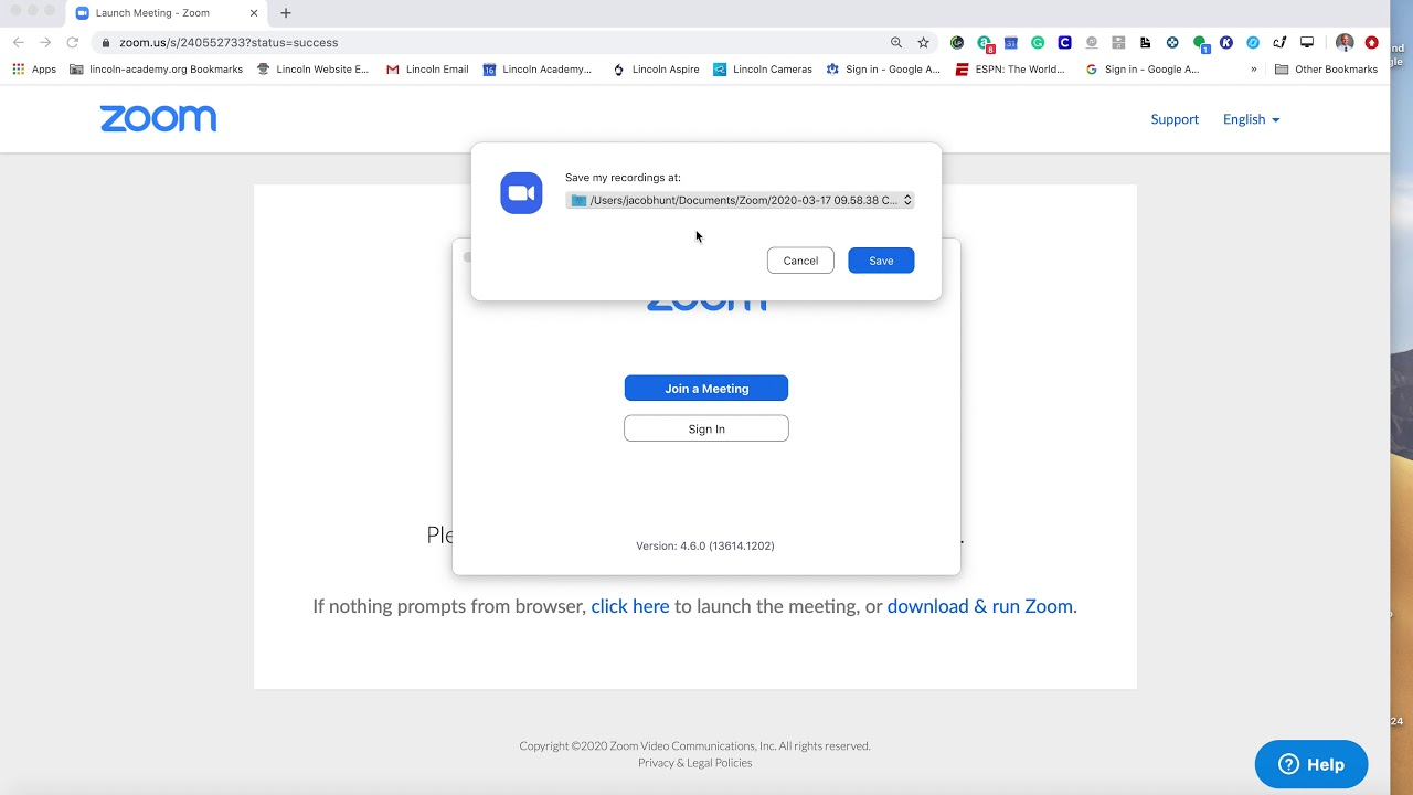 Save Zoom Recording To Google Drive Youtube