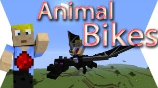 Animal Bikes Mod - Minecraft Mod