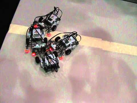 RET robot sumo workshop at MCC Expo Center, May 2010 (2)