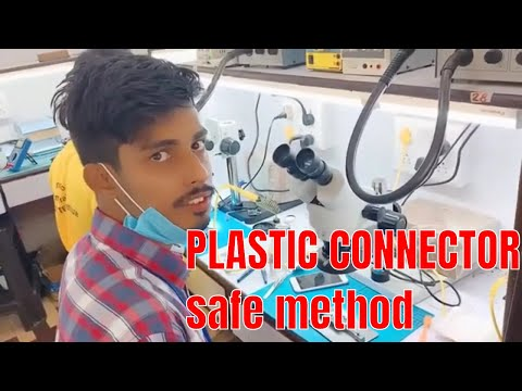 PLASTIC CONNECTOR Sessions Live Practice Students    #ASIA TELECOM
