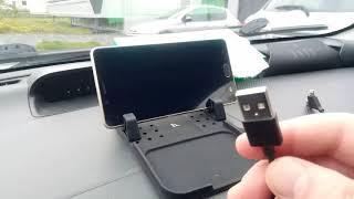видео Универcальный авто держатель Hoco CA21 Universal Mobile Holder Черный