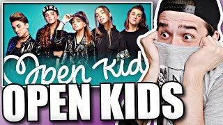 Реакция на Open Kids - Show Girls (клип)