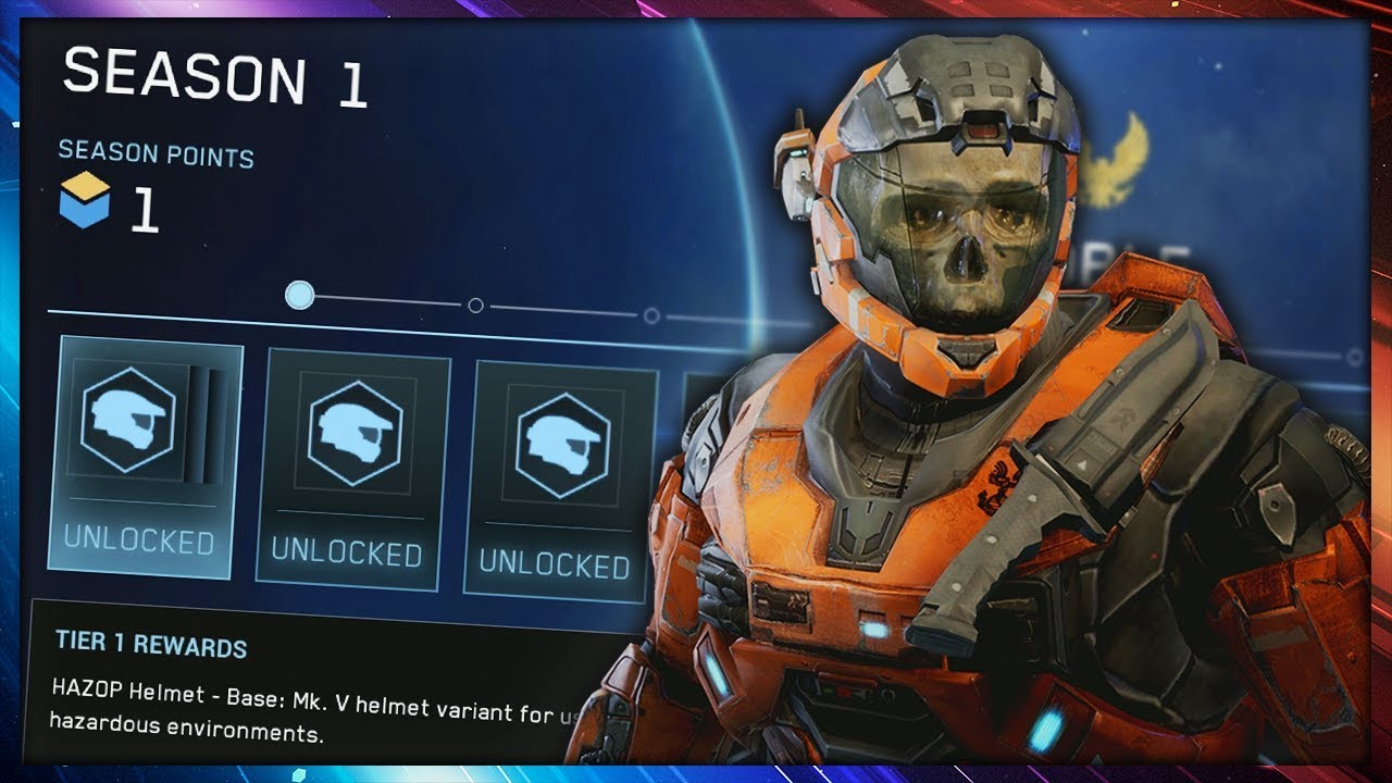 Halo Mcc Pc First Look At Customization New Progression System