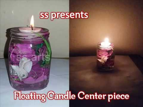 how to make floating candles youtube