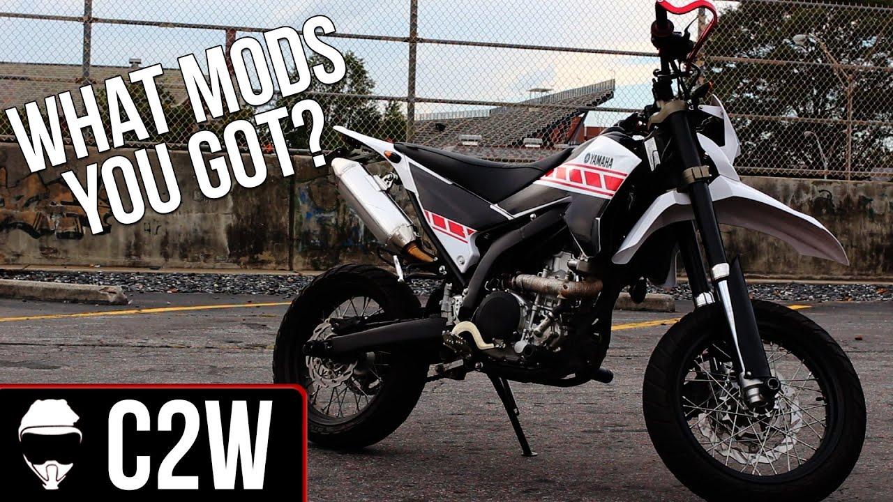Yamaha WR250x Mods list | Tea's upgrades! - YouTube