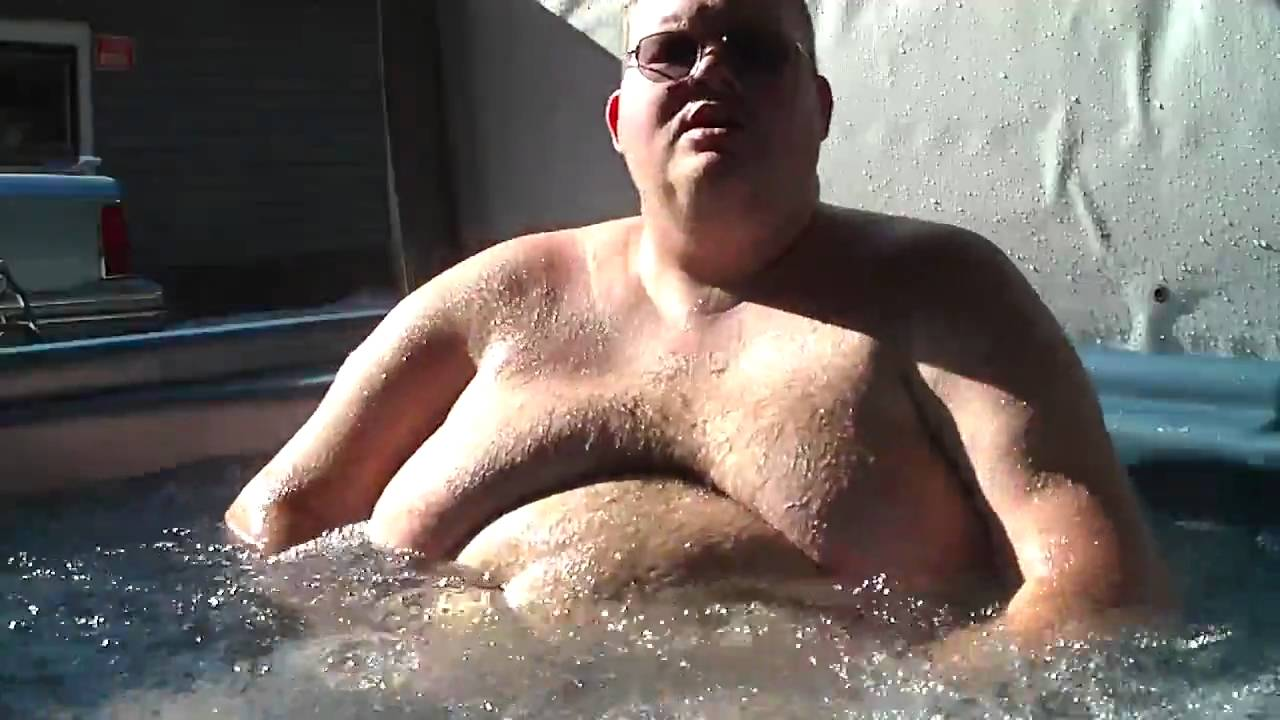 Fat Guy In Hot Tub 56