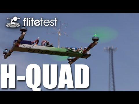 Flite Test - H-Quad Multirotor - REVIEW - YouTube