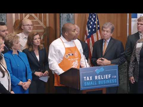 Tax Relief for Working Americans: Chico Evans, Manager of a Washington D.C. Home Depot