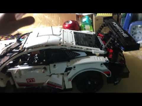 Porsche911 RSR超跑!!LEGO 42096