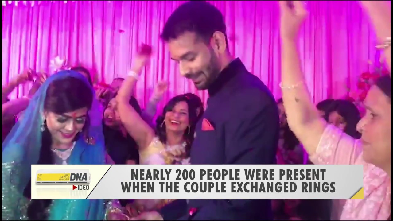 First visuals from Tej Pratap Yadav and Aishwarya Rai\'s engagement ...