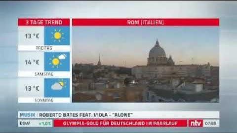 """Roberto Bates feat. VIOLA - Alone (NTV bei """"Rund um die Welt"""")"""