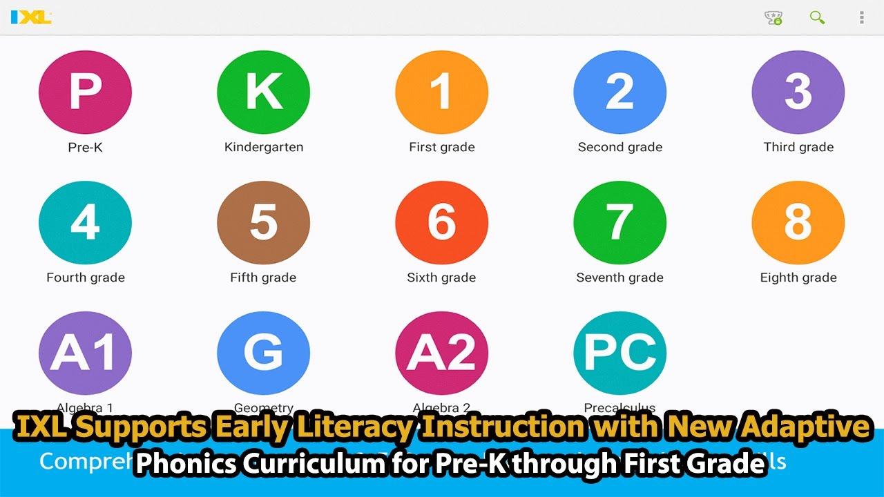 IXL Supports Early Literacy Instruction | New Adaptive Phonics ...