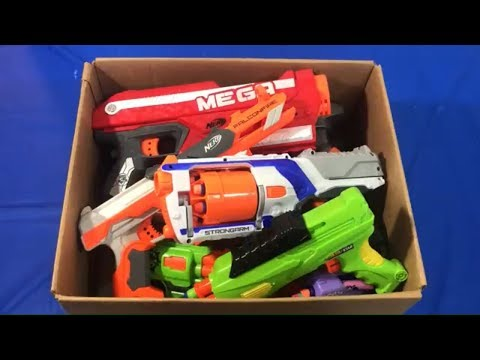 Box of Toys Box of Toy Guns for Kids Toy Weapons Nerf Blasters