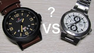 Chinese watch vs Casio Edifice.  Unpacking & disassembly