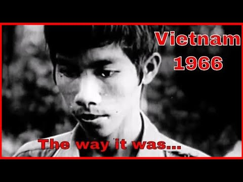 Captured Viet Cong Film Footage - Vietnam War 1966