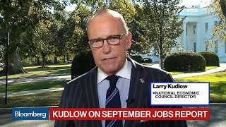 Larry Kudlow Sees U.S. Poised for 'Much Stronger' Economic Story