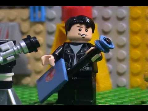 Key of Atlas -Someone Help Me- Lego Animation