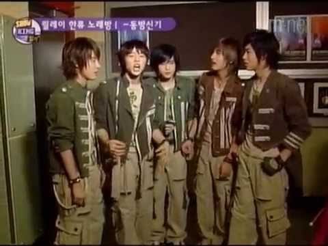DBSK - mnet show king diary (hallyu relay karaoke) [eng sub] 20040429