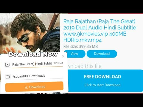 1080p Download Now Raja The Great Hindi Dubbed Full Movie 2019 Download Now