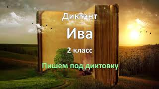 Диктант по русскому языку за 2 класс, Ива