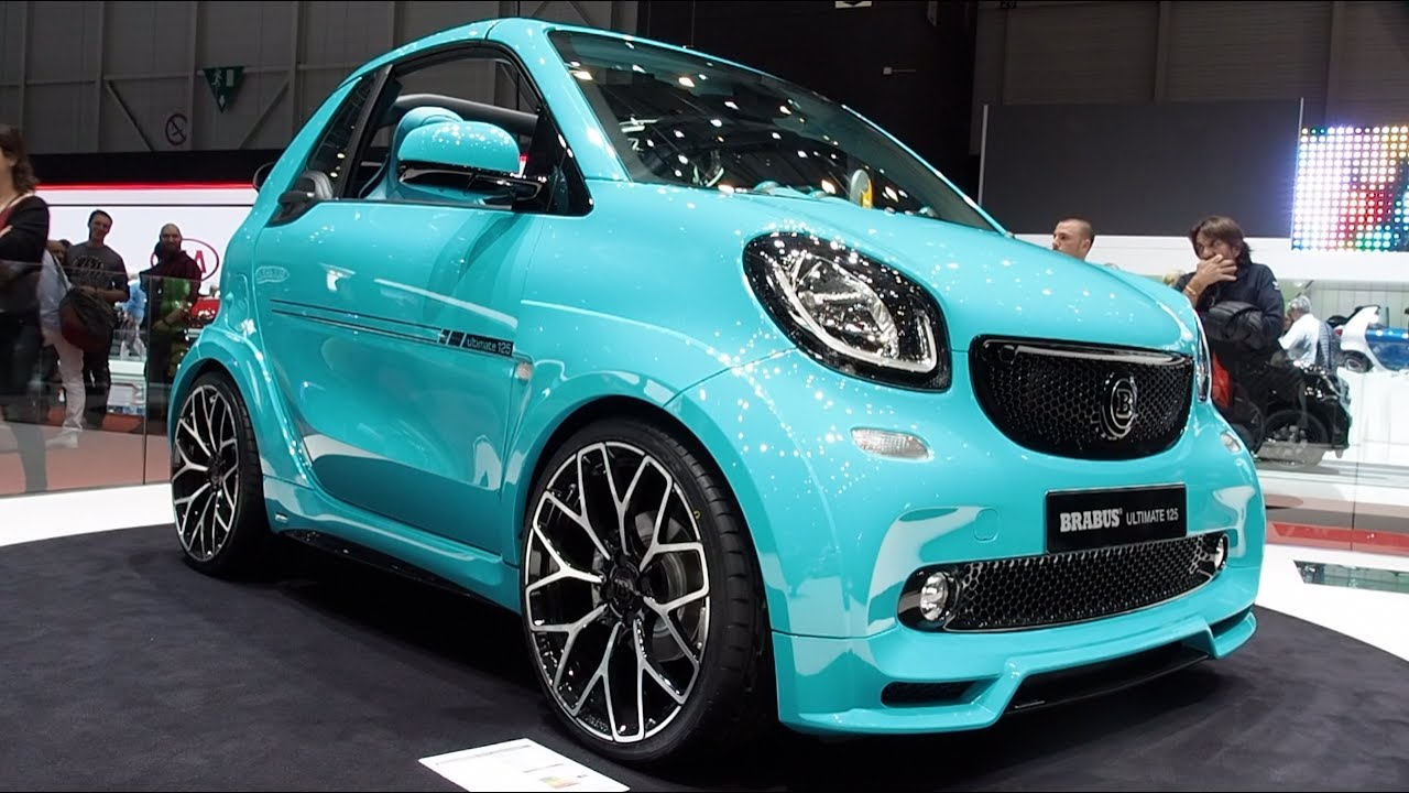 brabus ultimate 125 smart fortwo cabriolet 2017 in detail. Black Bedroom Furniture Sets. Home Design Ideas