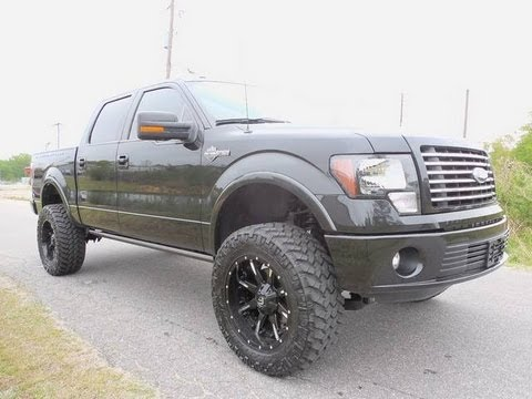 2012 Ford F-150 Harley-Davidson Lifted Truck For Sale - YouTube