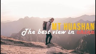 Mt Huashan - Epic Chinese mountains!