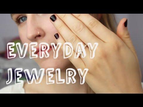 My Everyday Jewelry (Rings + Earrings)