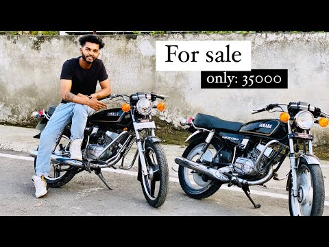 Yamaha rx135 for sale black black ❤️❤️| Very low price | Full modified | Gill Brand