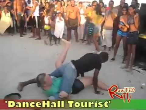 Dance Hall Tourist From Foreign..