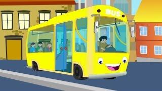 RÄDER AM BUS | Kindervers | Wheels On The Bus