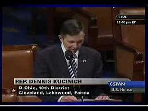 Kucinich: Articles of Impeachment 29.