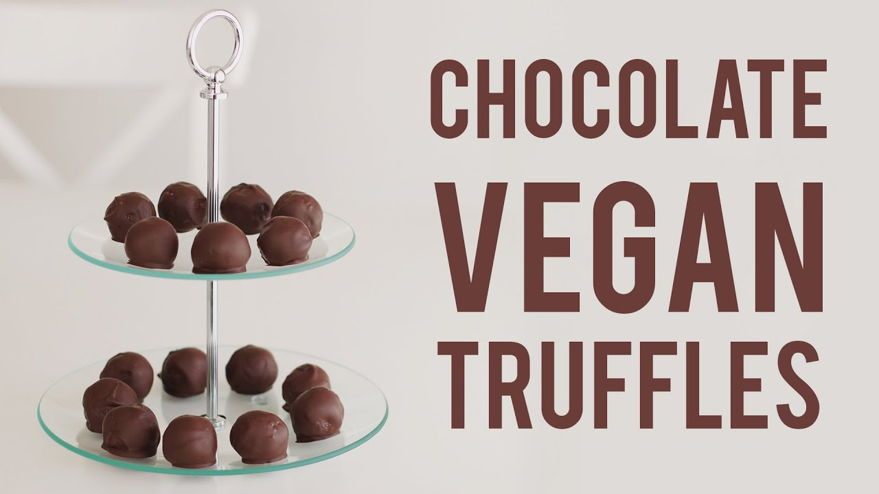 Easy Vegan Chocolate Truffles (RAW) - YouTube
