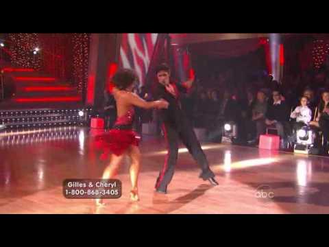 DWTS Gilles Marini & Cheryl Burke Cha Cha Week 1
