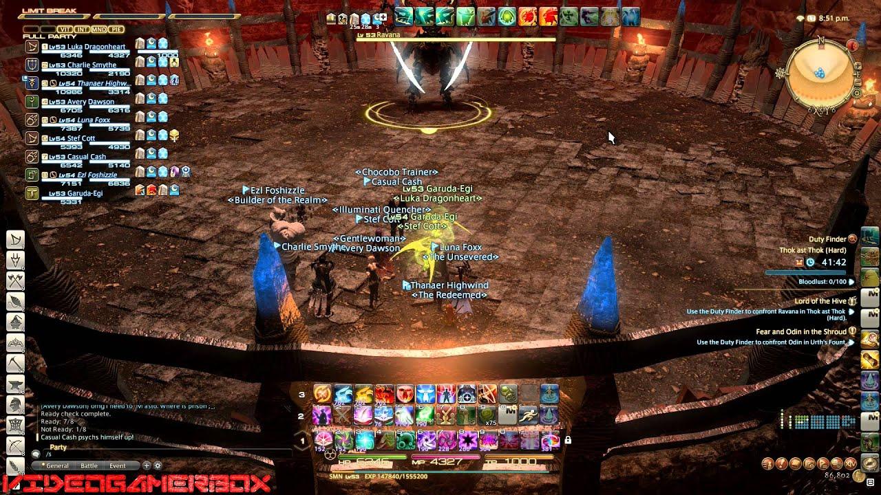 FFXIV - Ultimate Ravana Fails (Thok ast Thok (Hard))
