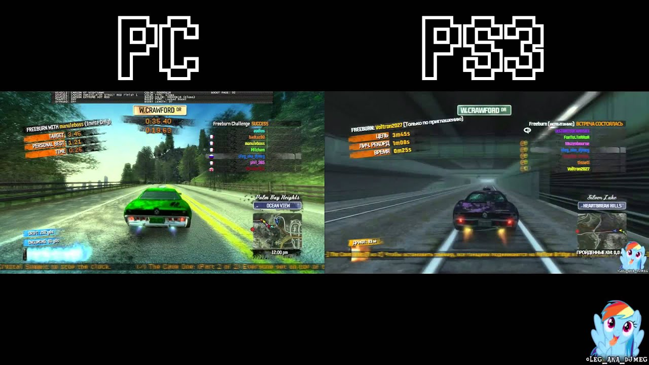 burnout paradise the cave one pc and ps3 splitscreen w me youtube. Black Bedroom Furniture Sets. Home Design Ideas