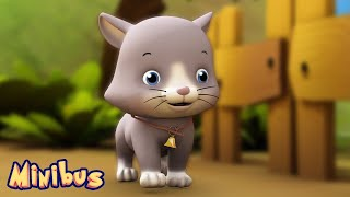 Ding Dong Bell 🐱 Nursery Rhyme | Animal Songs for Children & Toddlers