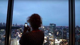 私の1日:ママが日本に来た!