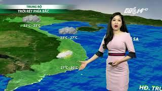 VTC14 | Thời tiết 6h 20/11/2017| Hôm nay Bắc Bộ tiếp tục rét, vùng núi có nơi rét đậm