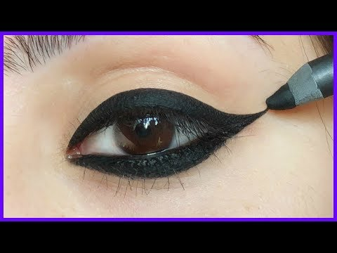 Perfect Winged Eyeliner Makeup