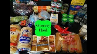 Safeway Grocery Haul With Freebies