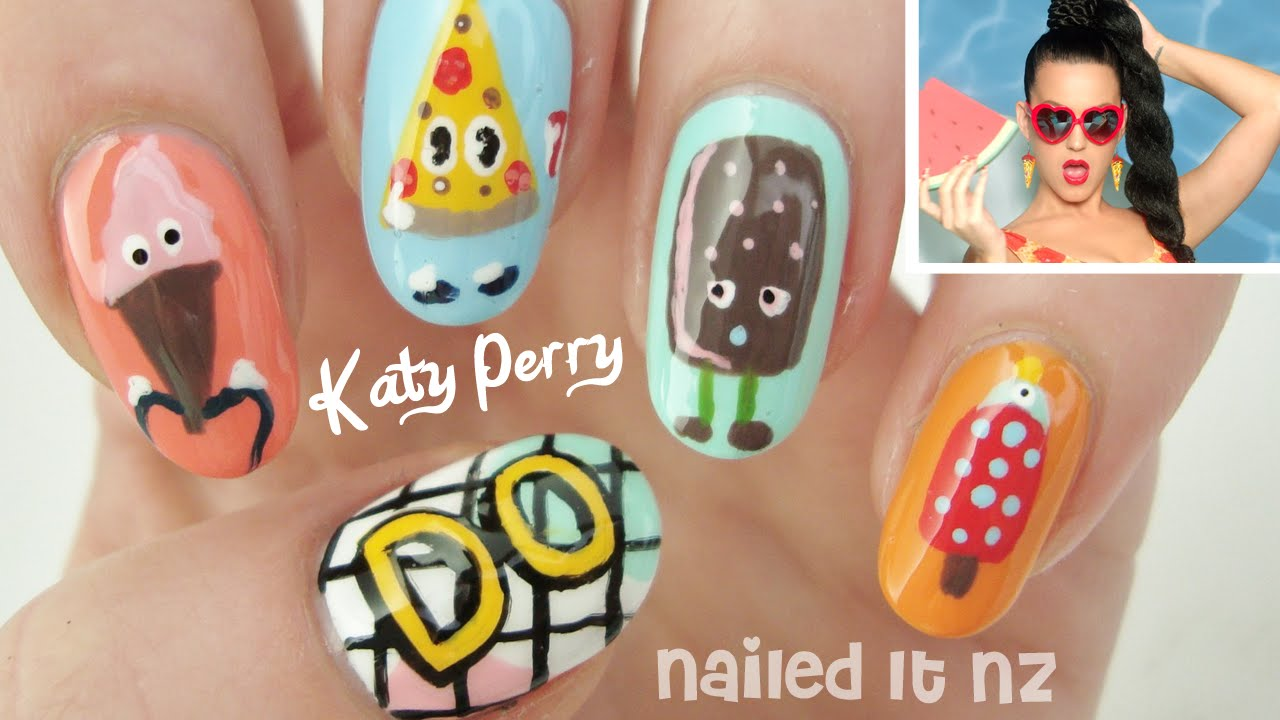 Katy Perry - This Is How We Do | Nail Art - YouTube