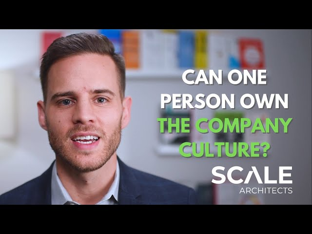 Can one person own your company culture?