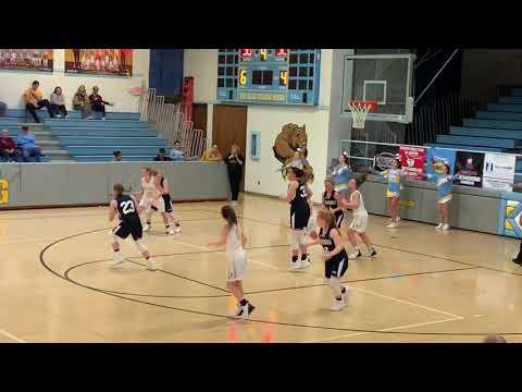 "Alaina Moore 6'1"" Junior Year Highlights Weirton Madonna High School girl basketball 2021Recruitment"