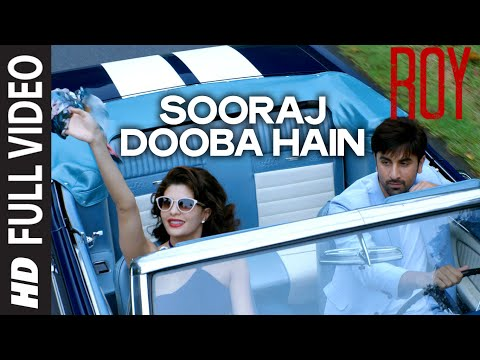 'sooraj Dooba Hain' Full Video Song  Arijit Singh Aditi Singh Sharma  T-series