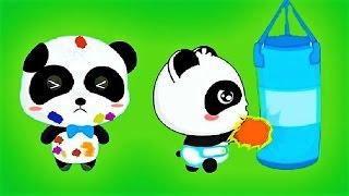 Little Panda Learn Healthy Eating Habits, Personal Hygiene - Baby Panda Fun Game
