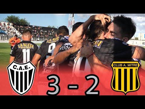 Primera Nacional : ESTUDIANTES (BA) 3 - 2 MITRE (SdE) | Los Goles