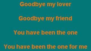 PHAC0701 01 Goodbye My Lover James Blunt [karaoke]